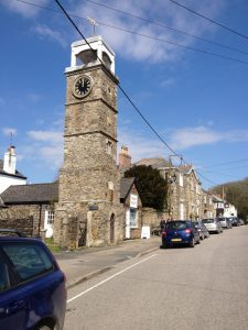 Tregony-clock-tower